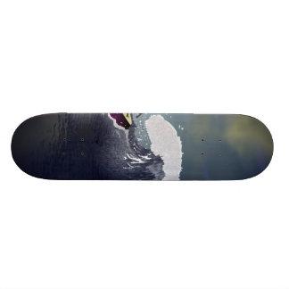 "Monopatín de la ""onda"" patinetas personalizadas"