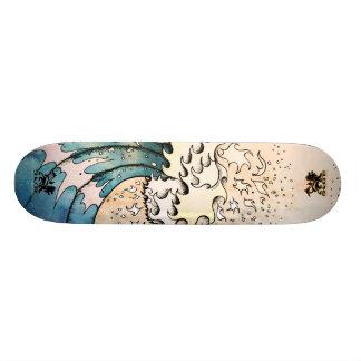 Monopatín de la onda patinetas personalizadas