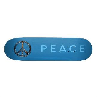 Monopatín de la paz/de la tierra de la paz patin
