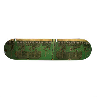 monopatín de la placa de circuito skateboard