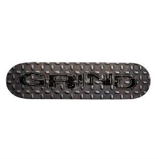 Monopatín de la placa del diamante skateboards