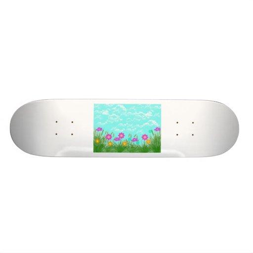 Monopatín de la primavera tabla de skate