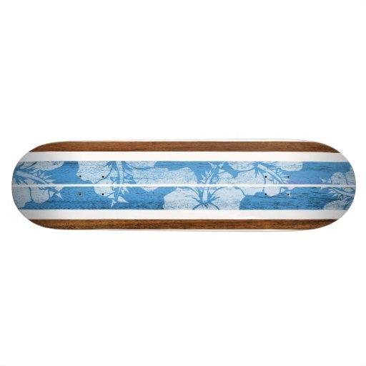 Monopatín de la resaca del vintage de Haleiwa