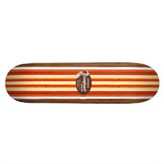 Monopatín de la resaca del vintage de la tubería patin