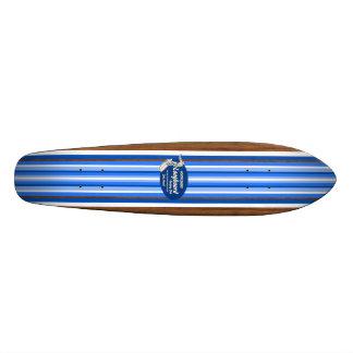 Monopatín de la resaca del vintage de la tubería skate boards