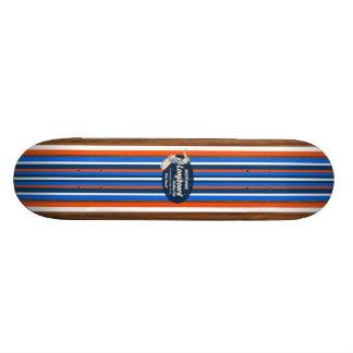 Monopatín de la resaca del vintage de la tubería tabla de patinar