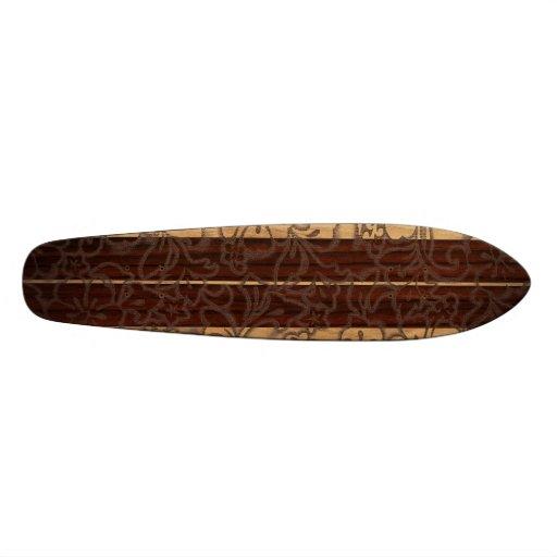 Monopatín de la resaca del vintage de Pupukea Pare