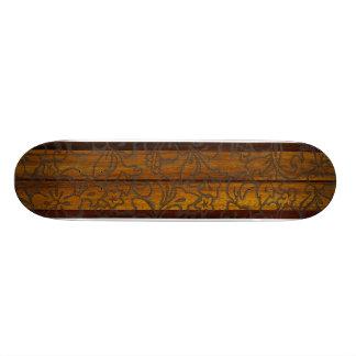Monopatín de la resaca del vintage de Pupukea Tabla De Patinar