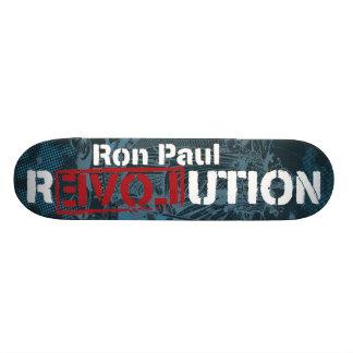 Monopatín de la revolución de Ron Paul