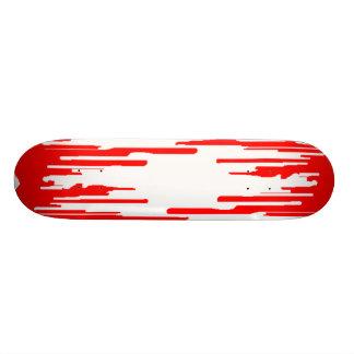 Monopatín de la sangre del camino tablas de skate