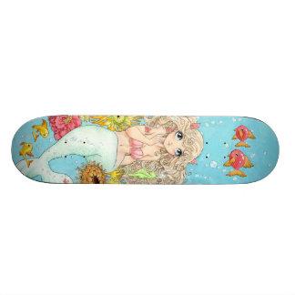 Monopatín de la sirena skateboards