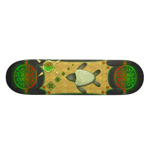 Monopatín de la tortuga de mar tabla de skate