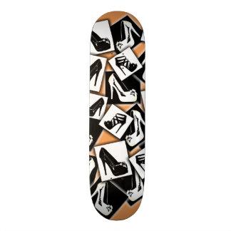 Monopatín de las mujeres tabla de skate