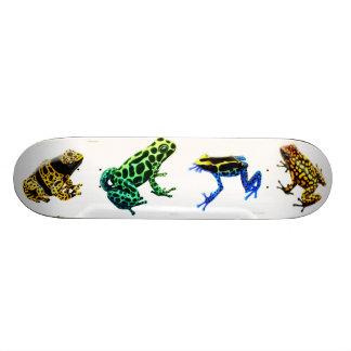 Monopatín de las ranas de la flecha del veneno monopatin personalizado