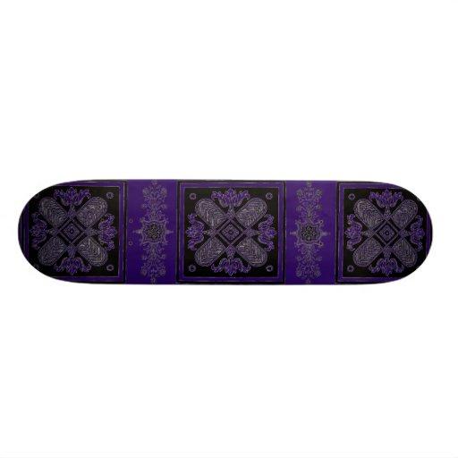 """Monopatín de los diseños florales patineta 7 7/8"""""""