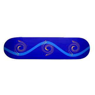 Monopatín de los espirales