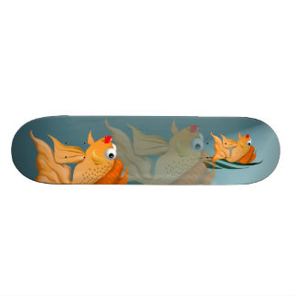 Monopatín de lujo del Goldfish Tabla De Skate