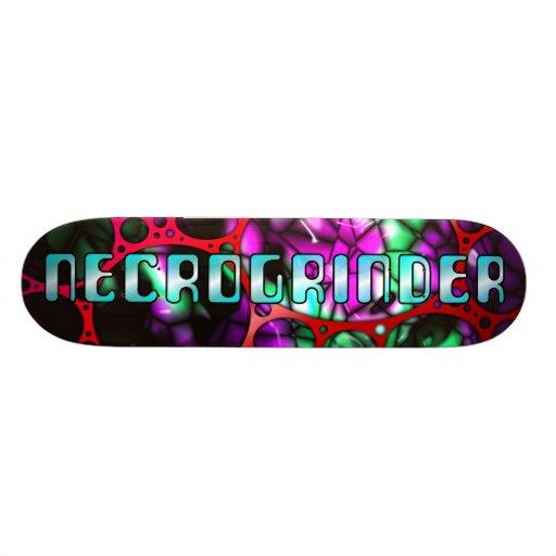 Monopatín de Necrogrinder Skate Board