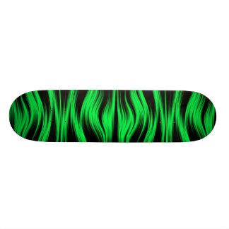 """Monopatín de neón verde patineta 7 3/4"""""""