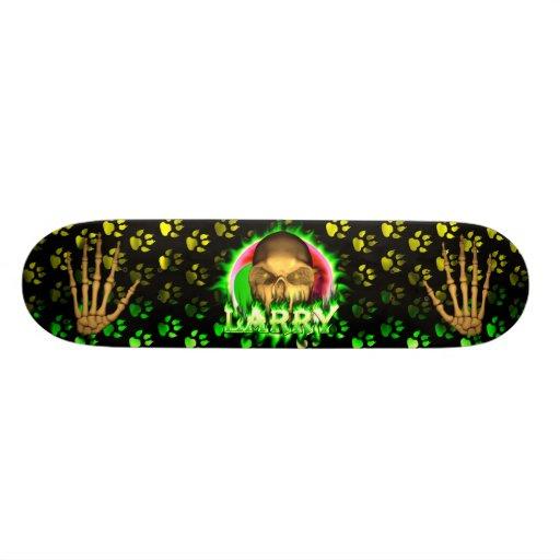 Monopatín de Skatersollie del fuego del verde del  Tabla De Patinar