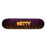 Monopatín de Skatersollie del fuego real de Betty