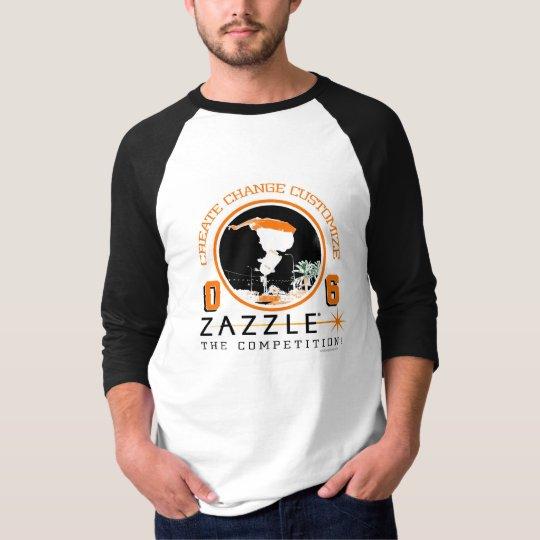 Monopatín de Zazzle Playera