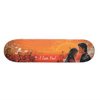 Monopatín del arte 13 de la mariposa skateboards