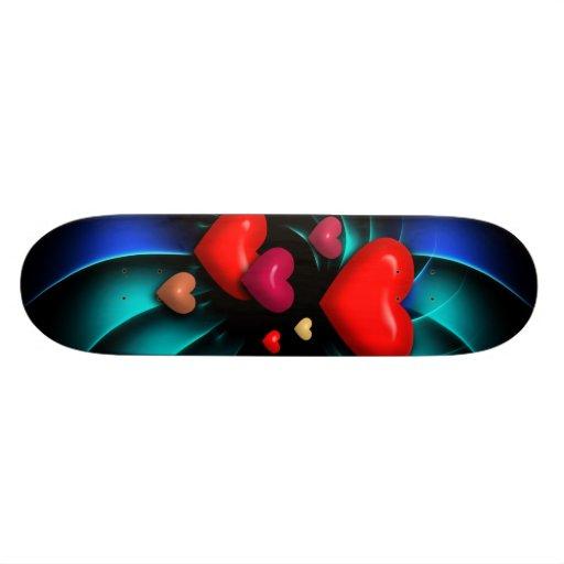 Monopatín del arte abstracto 96 monopatin personalizado