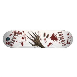 Monopatín del asesino del zombi favorable