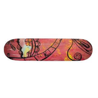 Monopatín del camello de la seta tablas de skate