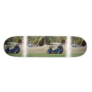 Monopatín del carro de golf patines