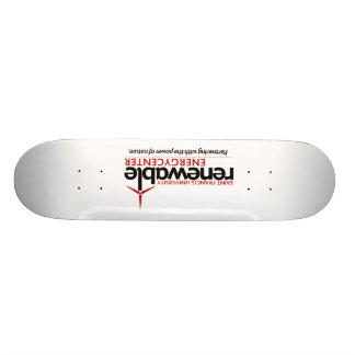 Monopatín del centro de energía renovable de SFU Skateboards