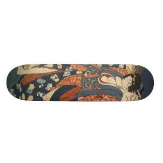 Monopatín del chica de geisha skate boards
