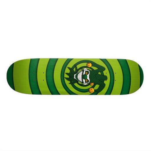 Monopatín del comodín (verde)