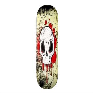 """Monopatín del cráneo del Grunge Patineta 7 7/8"""""""