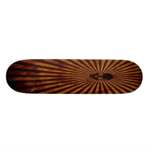 Monopatín del cráneo skate board