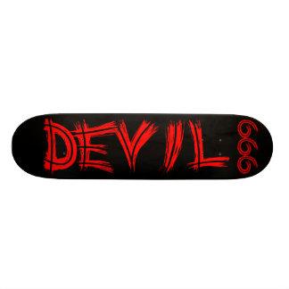 Monopatín del diablo 666 skate boards