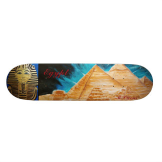 """Monopatín del ½ egipcio del estilo 8"""" patines"""