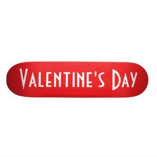 """Monopatín del el día de San Valentín Patineta 8 1/8"""""""