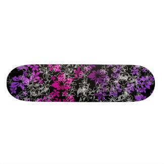 Monopatín del hibisco del baile tablas de patinar