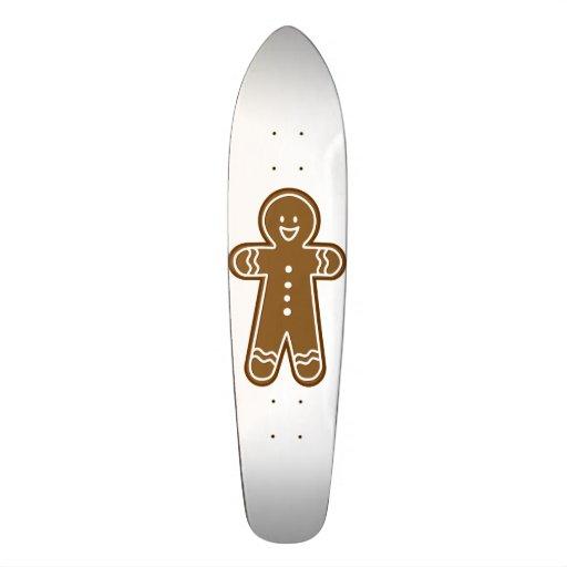 Monopatín del hombre de pan de jengibre skate boards