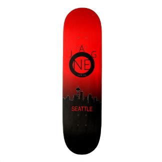 Monopatín del horizonte patines personalizados