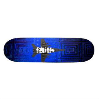 """Monopatín del jet de la fe patineta 7 3/8"""""""