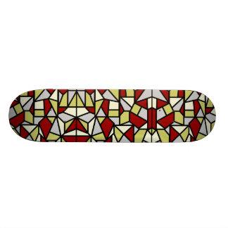 Monopatín del mosaico patines