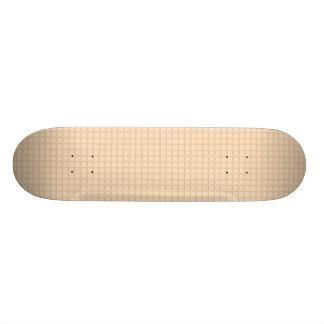Monopatín del naranja del panal skate boards