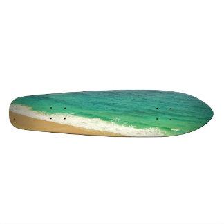 Monopatín del niño de la playa patin