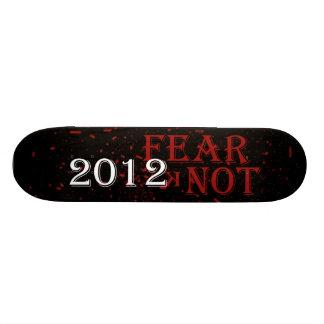 "Monopatín del nudo del miedo patineta 7 3/8"""