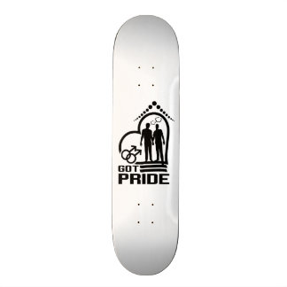 Monopatín del orgullo tablas de patinar