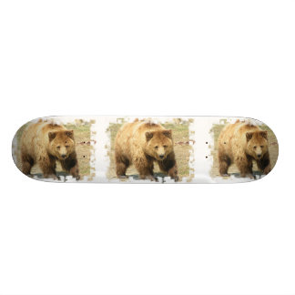 Monopatín del oso grizzly patin personalizado