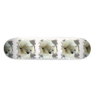 Monopatín del oso polar monopatines personalizados
